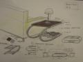 BEISTELLTISCH+SKID_Zeichnung