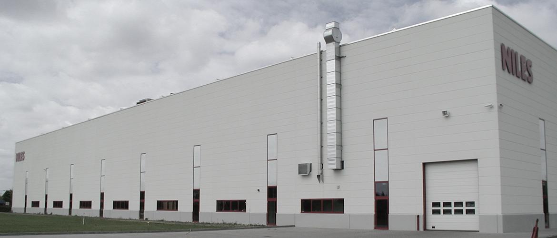 Neubau einer Maschinenbaufabrik