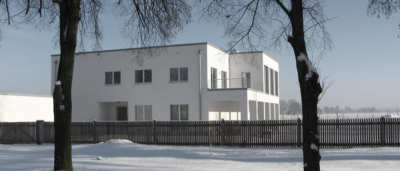 Neubau eines Wohn- und Geschäftshauses für die Unternehmensberatung Thomas Zeier